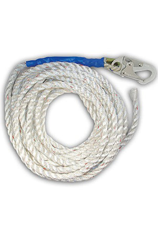 FallTech 25' 5/8 Poly Rope  #8125T