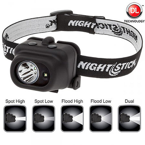 Nightstick Dual Light Multi-Function Headlamp  #NSP-4608B