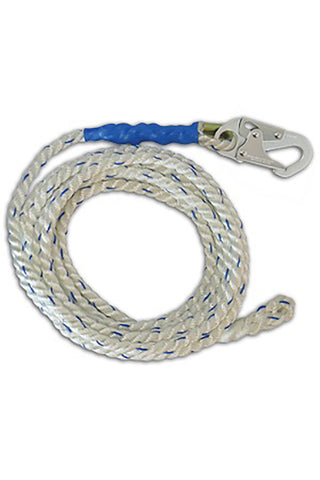 FallTech 25' Vertical Lifeline Rope #8125