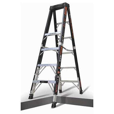 Safe Frame 8' Stepladder  #15778-804