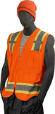Majestic Hi-Vis Orange Vest #75-3224