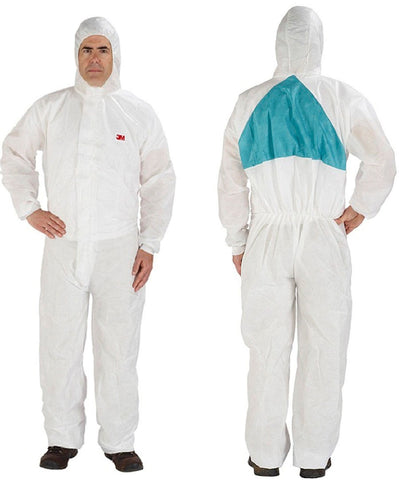 3M Disposable Coverall with Hood #4520-BLK