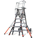 "Aerial Safety Cage ""Demo"" Ladder #18509"