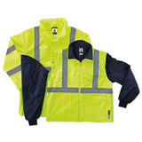 Ergodyne Glowear 4-in-1 Jacket, Lime  #8385