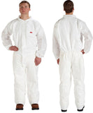 3M Disposable Coverall with Collar #4510CS-BLK