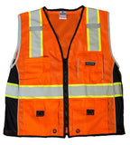 ML Kishigo Black Series Safety Vest #1514