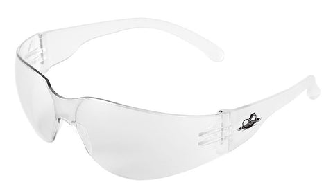Bullhead Safety Glasses, Clear #BH-111AF