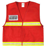 ML Kishigo Incident Command Vest, Red #4708