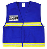 ML Kishigo Incident Command Vest, Blue  #4704