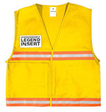 ML Kishigo Incident Command Vest, Yellow  #4710
