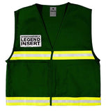 ML Kishigo Incident Command Vest, Green #4705