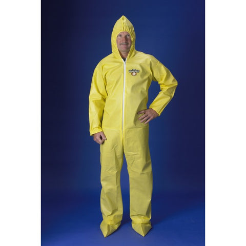 Lakeland ChemMax 1 Yellow Coverall with Hood & Boots #C5414