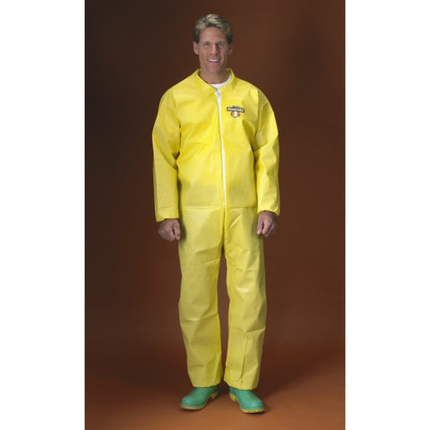 Lakeland ChemMax 1 Yellow Coverall with Collar #C5417
