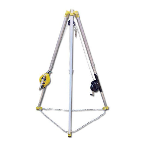 French Creek 7' Tripod & 50' 3-Way Rescue Unit and Winch #SG05-M7  **No free freight**