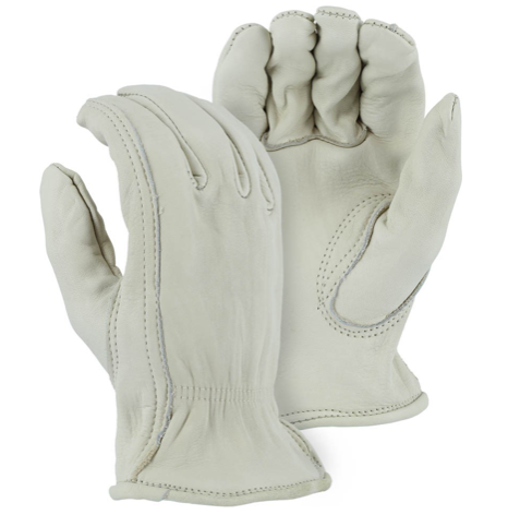 Majestic Cowhide Drivers Glove Large #1510L