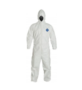 Liberty Gloves, TYVEK® Coveralls - Attached Hood, Elastic Wrists & Ankles