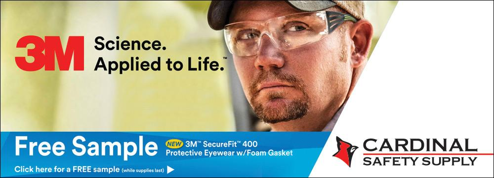 Free 3M Eye Protection from Cardinal Safety Supply