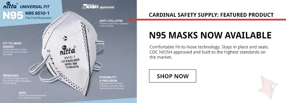 N95 MASKS NOW AVAILABLE