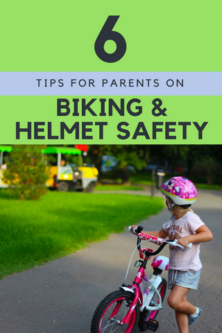 6 Tips for Parents on Biking and Helmet Safety