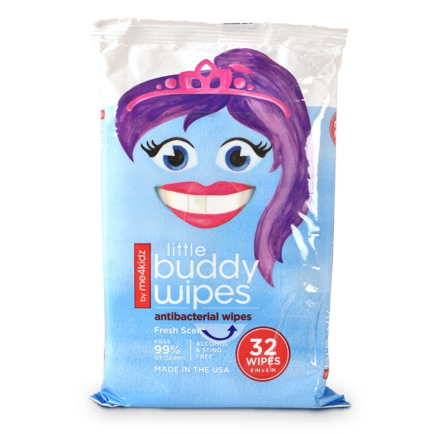 Little Buddy Antibacterial Wipes