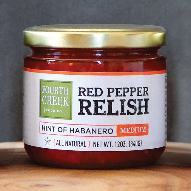 What's Better than Sweet Red Pepper Relish?