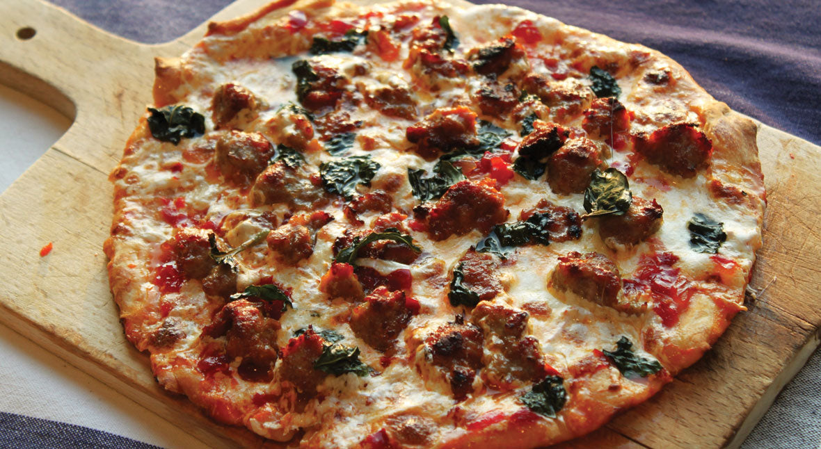 Sausage & Relish Pizza Recipe