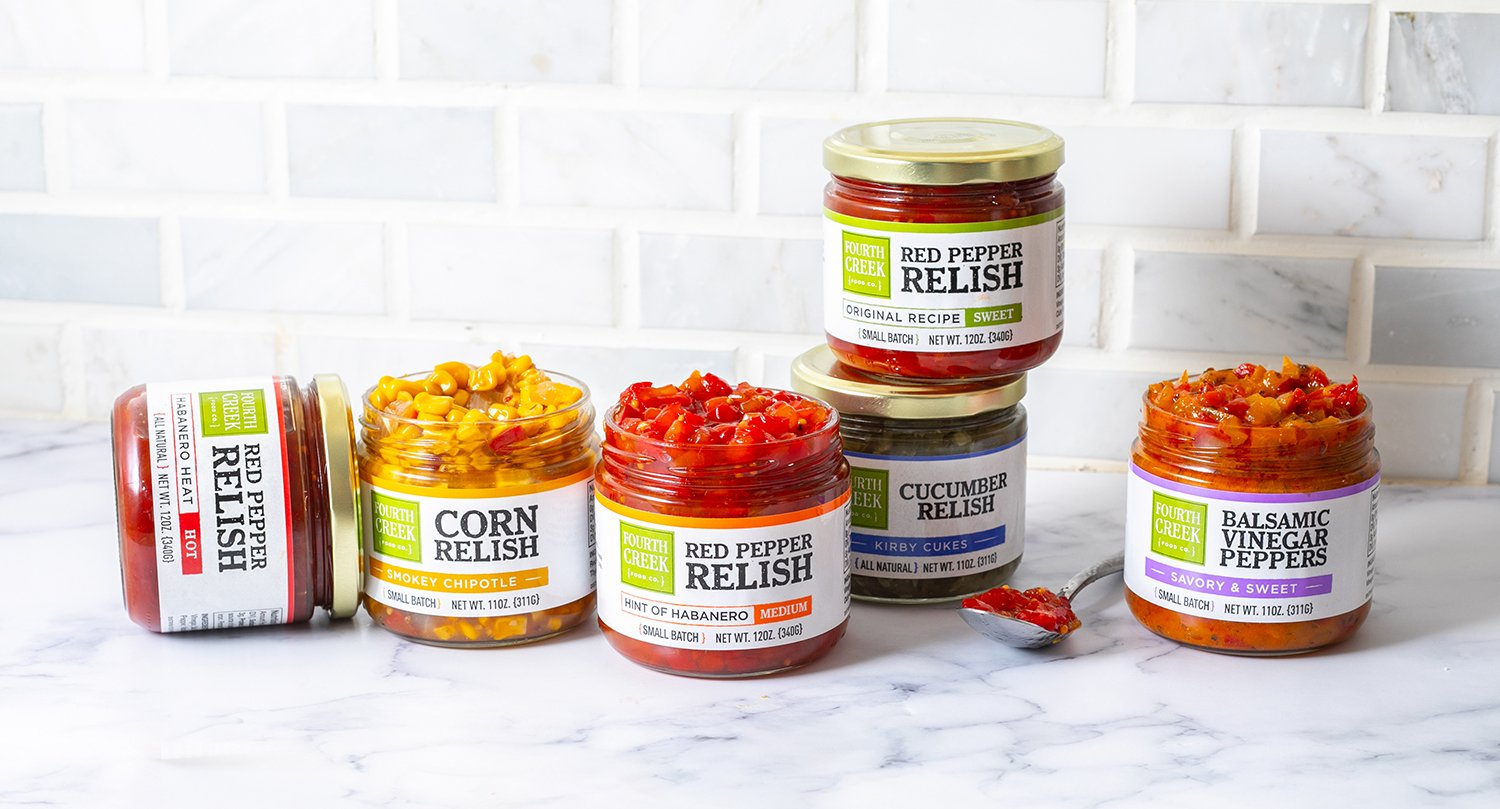 Fourth Creek Foods Red Pepper Relish & Relishes