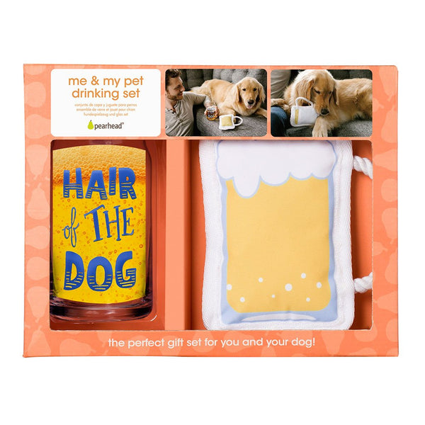 Me and My Pet Drinking Set: Hair of the Dog