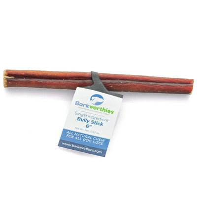 "Chew Bar-Barkworthies 6"" Bully Stick"