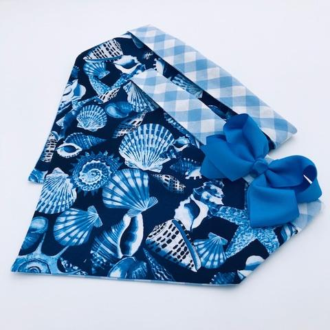 Chloe and Max Shells Bandana; with Bow