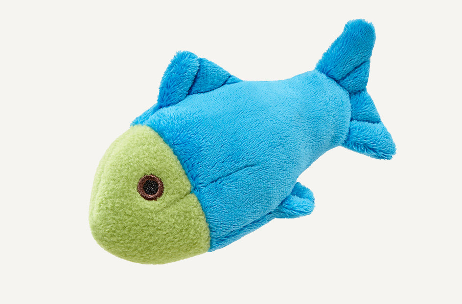 Fluff & Tuff Molly Fish Squeaky Toy