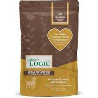 Nature's Logic Canine Chicken Meal Feast All Life Stages Dry Dog Food, 4.4lb
