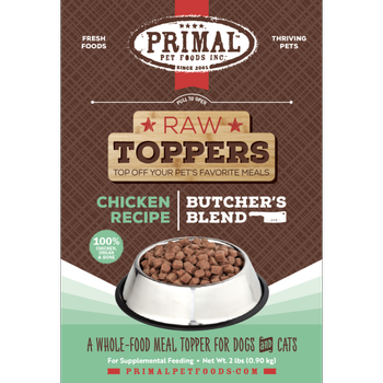 Primal Butcher's Blend Topper Chicken 2 lb