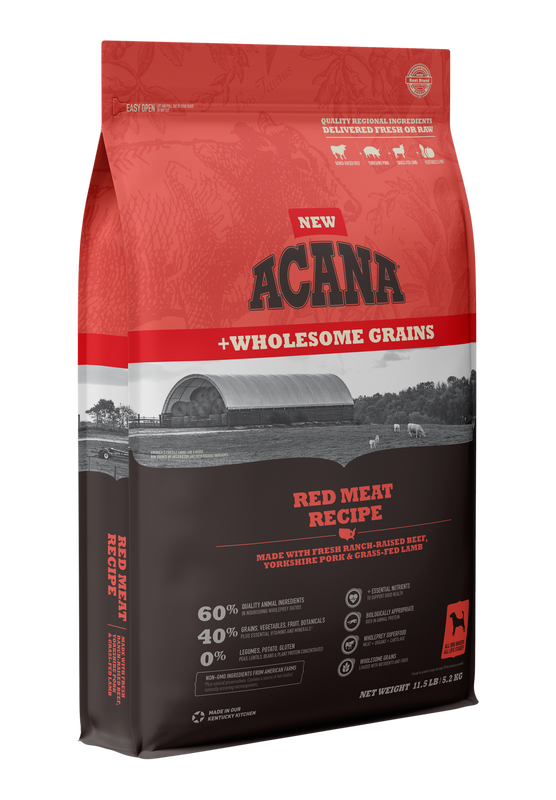 Acana Wholesome Grains Red Meat Dog Food