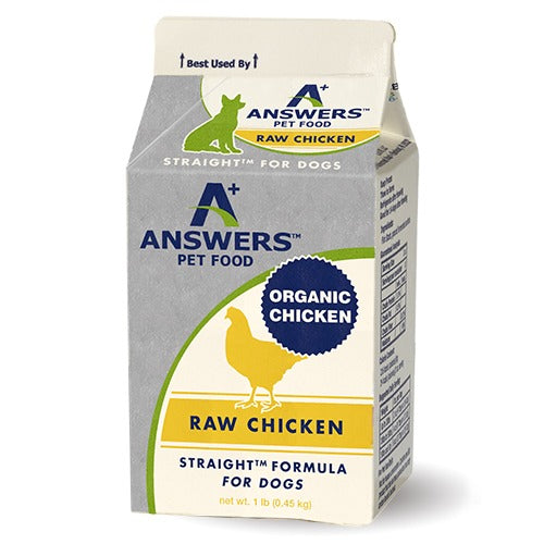 Answers Straight Chicken, 4lb