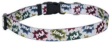 Yellow Dog Designs Cat Collar, Action Caption