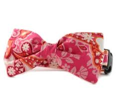 Sophisticated Pup, Arden Bow Tie Dog Collar