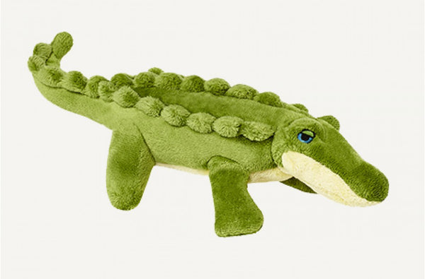Fluff & Tuff Savannah the Baby Gator Squeaky Toy