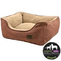 Tall Tails Dream Chaser Bed Bolster, Brown, 17x15, S