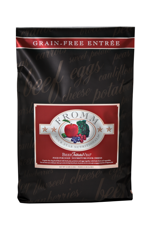 Fromm 4 Star Beef Frittata Grain Free Dog Food