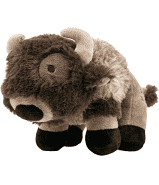 Tall Tails Buffalo Squeaker Toy, 9""