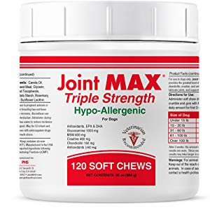 Joint Max Triple Strength Hypo-Allergenic Soft Chews