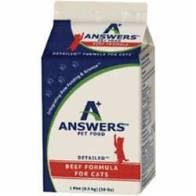 Answers Frozen Detailed Chicken for Cats, 1lb
