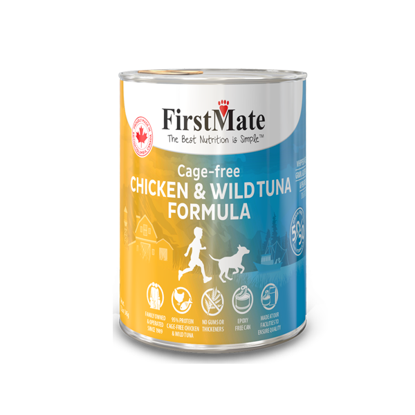 First Mate 50/50 Chicken & Tuna Formula Canned Food