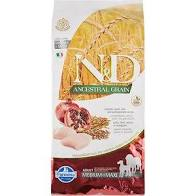 Farmina ND Pumpkin Grain Free Chicken & Pomegranate Medium/Maxi, 26.4 lb