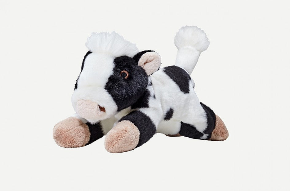 Fluff & Tuff Marge Cow Squeaky Toy
