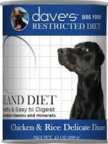 Dave's Canned Food-Restricted Diet Farmyard Blend