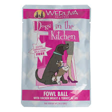 Weruva Dogs in the Kitchen Fowl Ball Wet Dog Food, 2.8 oz