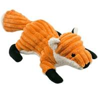 Tall Tails Squeaker Toy Fox, 12""