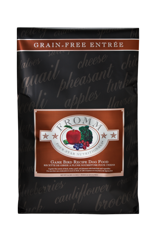 Fromm 4 Star Game Bird Grain Free Dog Food